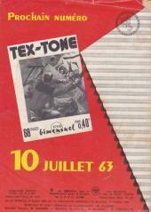 Verso de Tex-Tone -148- Quemada