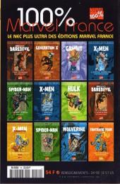Verso de Iron Man (Marvel France - 1999 - Retour des héros) -10- Programme perturbé
