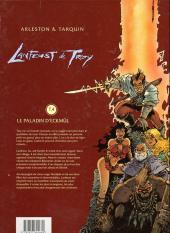 Verso de Lanfeust de Troy -4a- Le paladin d'Eckmül