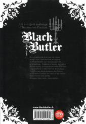 Verso de Black Butler -8- Black Athlete
