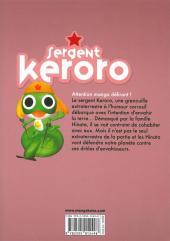 Verso de Sergent Keroro -20- Tome 20