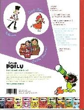 Verso de Petit Poilu -10- Amour glacé