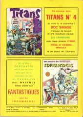 Verso de Titans -3- Titans 3