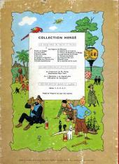 Verso de Tintin (Historique) -17B16- On a marché sur la lune