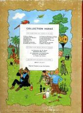 Verso de Tintin (Historique) -16B20bis- Objectif lune