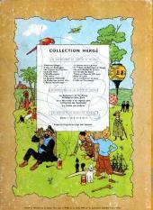 Verso de Tintin (Historique) -13B22- Les 7 boules de cristal