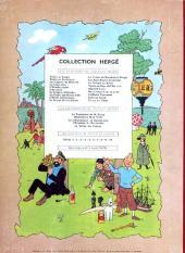 Verso de Tintin (Historique) -9B31- Le crabe aux pinces d'or