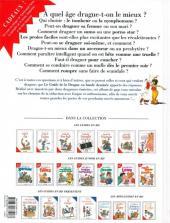 Verso de Le guide -7b09- Le guide de la drague