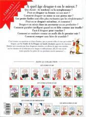 Verso de Le guide -7b11- Le guide de la drague