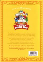 Verso de La dynastie Donald Duck - Intégrale Carl Barks -4- Les mystères de l'Atlantide et autres histoires (1953 - 1954)