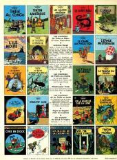 Verso de Tintin (Historique) -2C3bis- Tintin au Congo