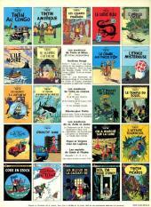 Verso de Tintin (Historique) -5C3- Le lotus bleu
