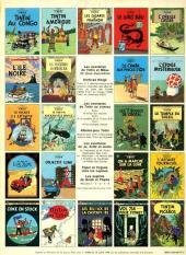 Verso de Tintin (Historique) -8C2- Le sceptre d'Ottokar