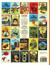 Verso de Tintin (Historique) -13C8- Les 7 boules de cristal