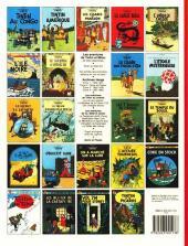 Verso de Tintin (Historique) -14C8- Le temple du soleil
