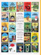 Verso de Tintin (Historique) -16C3- Objectif lune