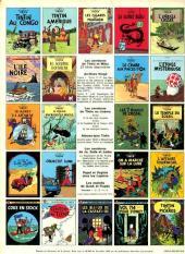 Verso de Tintin (Historique) -19C3- Coke en stock