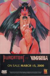 Verso de Lady Death VS. Vampirella II (2000) -0- Preview book