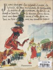 Verso de Cabu (voyages au bout du crayon) - Voyages au bout du crayon