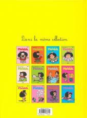 Verso de Mafalda -9b11- Les vacances de Mafalda