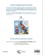Verso de Pierre Tombal -HS2a- Papy se disperse