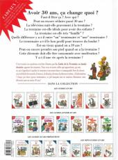 Verso de Le guide -11b11- Le guide de la trentaine