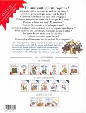 Verso de Le guide -10b04- Le guide des amis