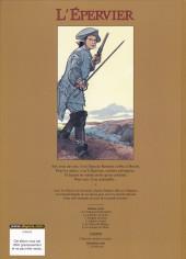 Verso de L'Épervier (Pellerin) -1Pub- Le Trépassé de Kermellec