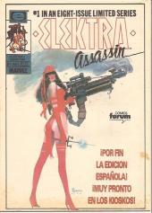 Verso de Comics de El Sol (Los) -6- Daredevil
