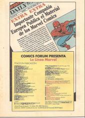 Verso de Comics de El Sol (Los) -7- Daredevil