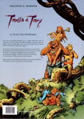 Verso de Trolls de Troy -2a2002a- Le Scalp du vénérable
