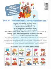 Verso de Le guide -14c11- Le guide du joyeux anniversaire