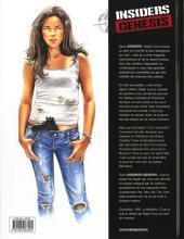 Verso de Insiders Genesis -1- Medellin 1991