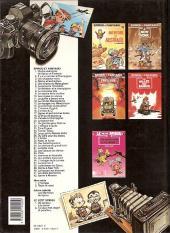 Verso de Spirou et Fantasio -38a1990- La jeunesse de Spirou
