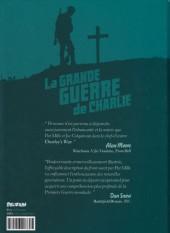 Verso de La grande Guerre de Charlie -1- Volume 1