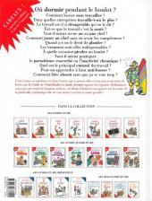 Verso de Le guide -15a08- Le guide de l'anti-boulot