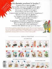 Verso de Le guide -15a10- Le guide de l'anti-boulot