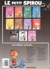 Verso de Le petit Spirou -9a2001- C'est pas de ton âge !