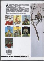 Verso de Les 7 Vies de l'Épervier -1c1996- La blanche morte