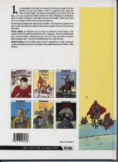 Verso de Les 7 Vies de l'Épervier -2a1990- Le temps des chiens