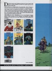 Verso de Les 7 Vies de l'Épervier -4b1995- Hyronimus