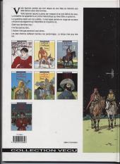 Verso de Les 7 Vies de l'Épervier -6a1997- La part du diable
