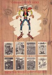 Verso de Lucky Luke -27a69- Le 20ème de cavalerie