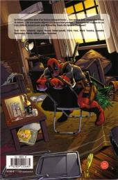 Verso de X-Men - Les origines -3- Wolverine - Dents de sabre - Deadpool
