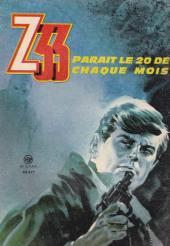 Verso de Z33 agent secret -72- Le secret du docteur Krampus