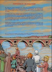 Verso de Histoire(s) (Éditions Grand Sud) - Histoire(s) de Toulouse 1