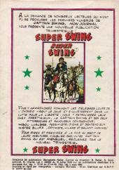 Verso de Capt'ain Swing! (1re série) -165- Le baron maudit