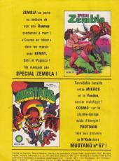 Verso de Zembla -318- Les monstres du marais