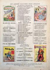 Verso de (AUT) Calvo - Les Voyages de Gulliver