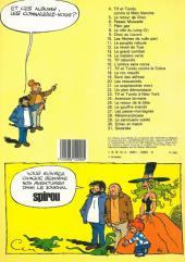 Verso de Tif et Tondu -19a1983- Sorti des abîmes